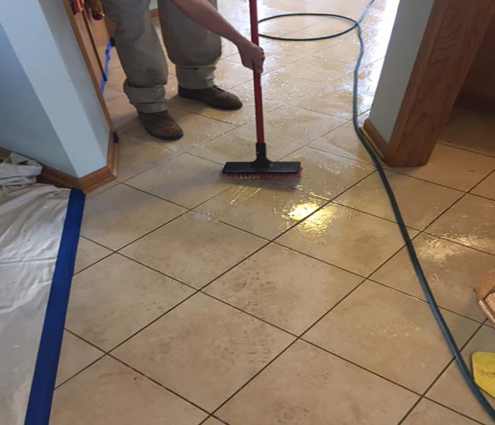 Ceramic Tile And Grout Cleaning Before