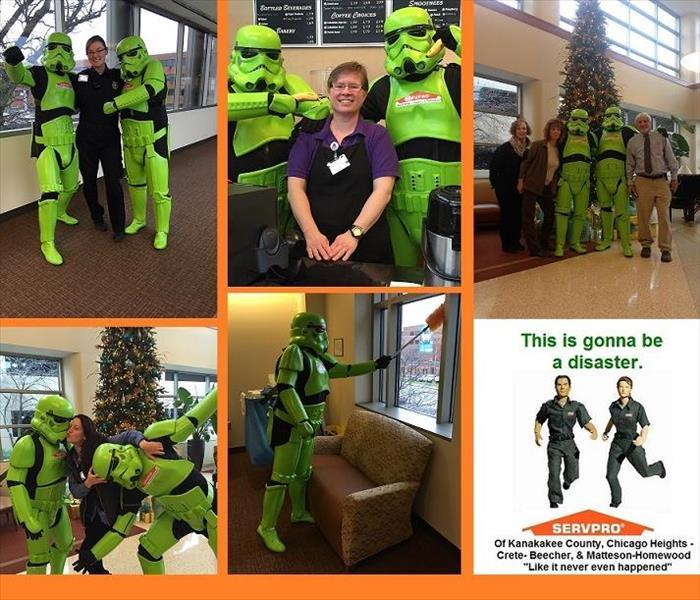 SERVPRO supports local Hospital and Community
