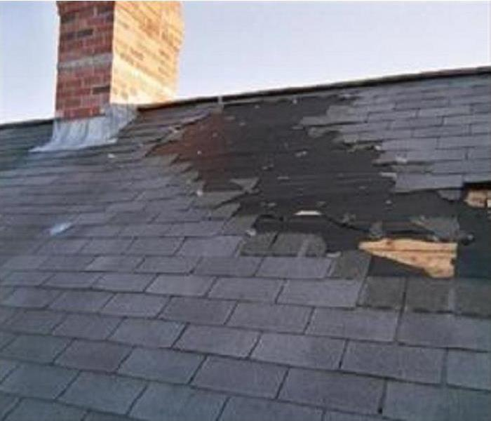 Water Damage Water damage to your roof in Momence