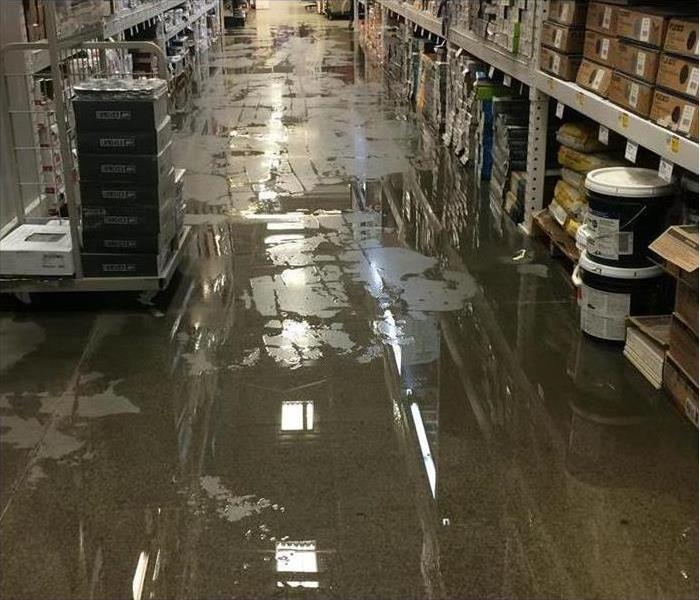 Commercial Water Damage to your Warehouse in Herscher
