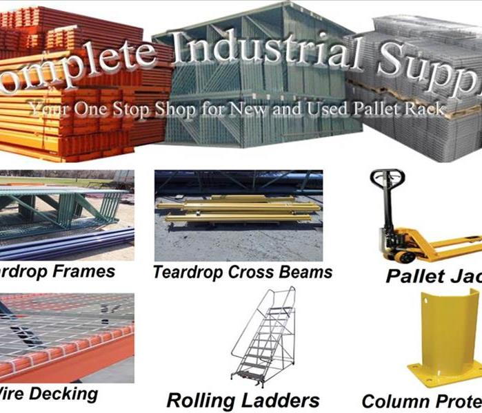 Commercial Complete Industrial Supply  - New & Used Pallet Racks