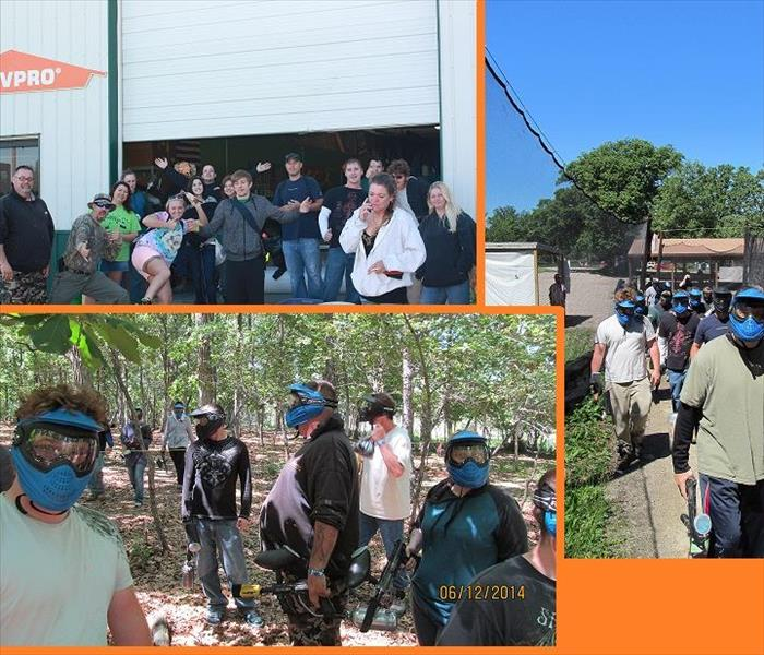 Community 2014 SERVPRO Employee Appreciation Day - Paint Ball