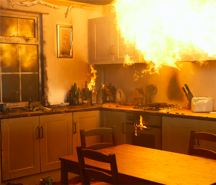 Fire Damage Revive Your Home in Manteno After Fire Damage Using SERVPRO