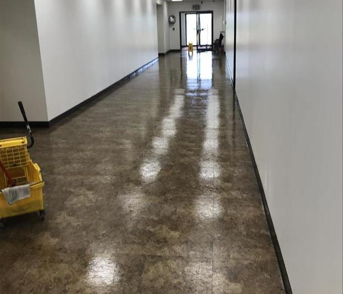 Sparkling clean common hallway in Kankakee