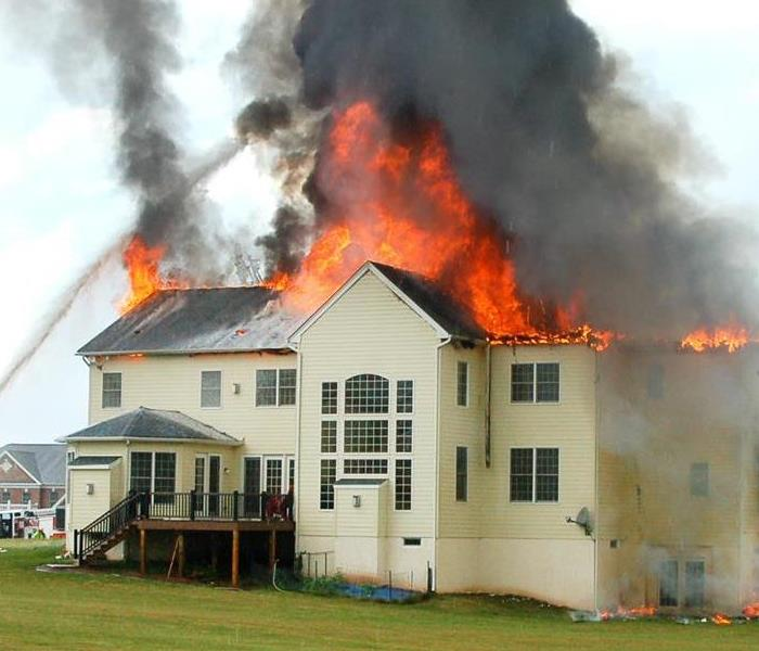 Fire Damage The ERP Plan from SERVPRO helps against Fire Damage for your home in Gilman