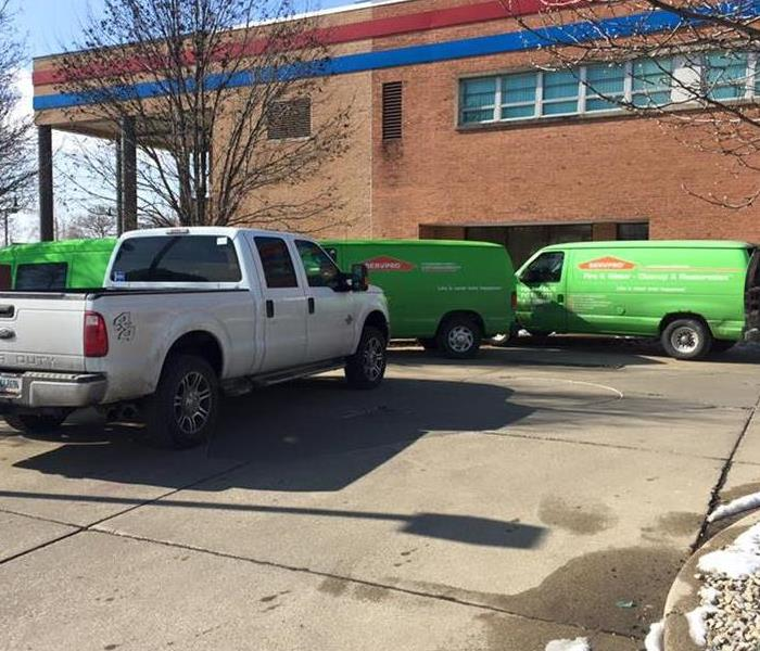 Commercial Your Business Church or School Can Count on SERVPRO